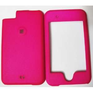 1st Generation Hot Pink Rubberized Snap On Case Cell Phones