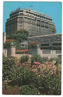 Sheraton Brock Hotel Niagara Falls ON Canada Postcard PC