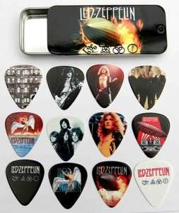 Led Zeppelin Full Colour Premium Guitar Picks Tin of 12