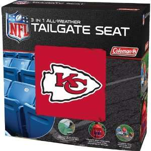 BSS   Kansas City Chiefs NFL 3 in 1 All Weather Tailgate