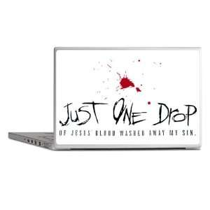 Laptop Notebook 14 Skin Cover Just One Drop Of Jesus Blood Washed