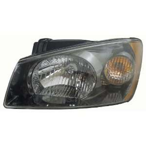 OE Replacement Kia Spectra Driver Side Headlight Assembly