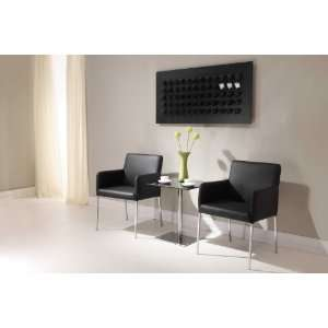 Zuo Modern Dimensional Pub Table Black
