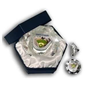 New York Yankees Yankee Stadium Glass Diamond Sports