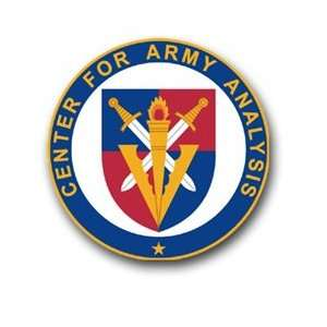 United States Army Center for Army Analysis Decal Sticker