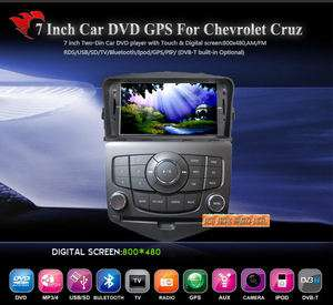 Din HD Car DVD/GPS/3G INTERNET Player CHEVROLET CRUZE (DVB T