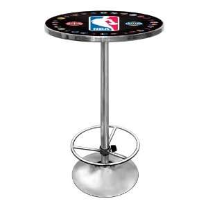 NBA All Teams Chrome Pub Table