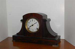 RARE ANTIQUE SESSIONS EN WELCH MANTLE CLOCK GORGEOUS 31 DAY ART DECO