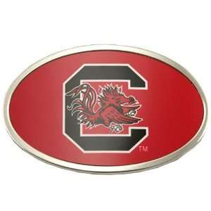 South Carolina Gamecocks Team Logo Oval Belt Buckle