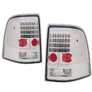 2002 2004 Ford Explorer KS LED Chrome Tail Lights