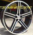 24 INCH BLACK IROC RIMS ONLY WHEELS CHEVY TRUCK 5X127 C 10 TAHOE