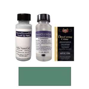 1 Oz. Mineral Green Metallic Paint Bottle Kit for 2001 Mercedes