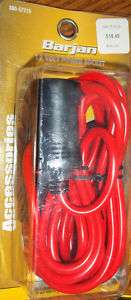 12 VOLT HEAVY DUTY EXTENSION CORD WITH OUTLET, NEW