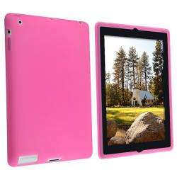 Hot Pink Silicone Case for Apple iPad 2