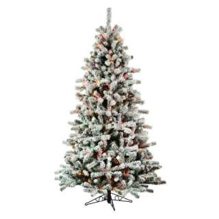 Layered Balsam Fir Medium Pre lit Christmas Tree Christmas Decor