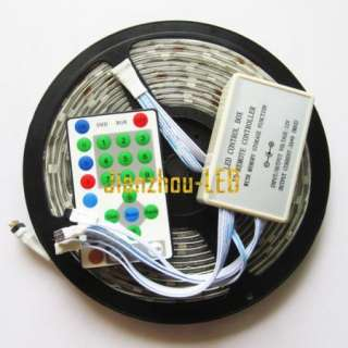 Horse Race 5050 Flash RGB SMD 5M Led Strip & Controller