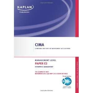 Enterprise Management   Complete Text (Cima