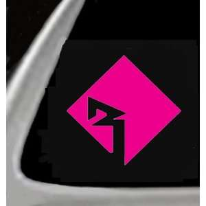 Pink, 5 Vinyl Sticker/Decal for Cars,Trucks,Trailers ETc. Automotive