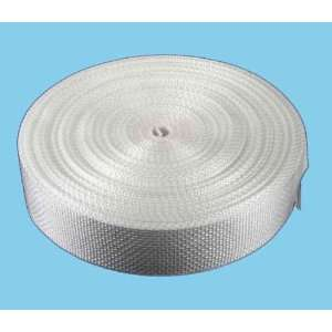 1 1/2 Inch 25 Yards Lite Weight White Polypro Webbing