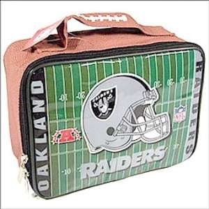 OAKLAND RAIDERS NFL Officially Licensed Football SOFT Lunch Box Lunch