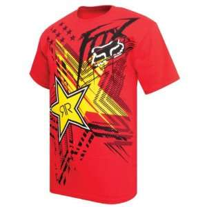 Fox Racing Rockstar Showcase s/s Tee Red L Automotive