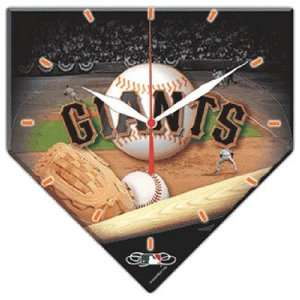 San Francisco Giants MLB High Definition Clock Sports