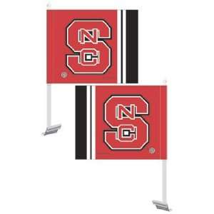 North Carolina State Wolf Pack NCAA Car Flag by Wincraft (11.75x14.5