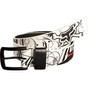 Fox Racing Victory Belt White