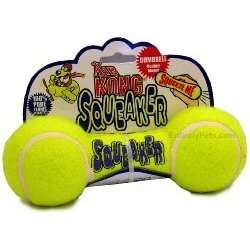 Air Kong Squeaker Dumbbell, Great Dog Toy Floats Large