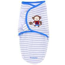Summer Infant Pure Love SwaddleMe   Team Monkey (Small)   Summer