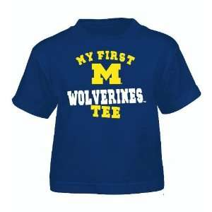 Michigan Wolverines Toddler Adidas My First Tee T Shirt