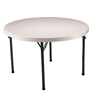 . Round Folding Table  Lifetime Outdoor Living Patio Furniture Tables