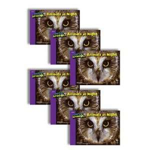 Creative Teaching Press CTP6726 Animals At Night 6 Pack I
