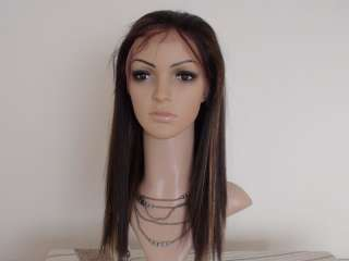 Front Wig 12 14 16 18 High Quality Synthetic Hair #1b/30