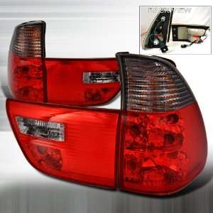 2000 2005 Bmw X5 X5 E53 Altezza Tail Light Red Smoke