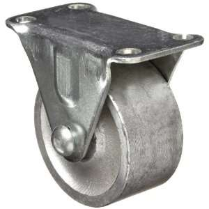 EZ Roll E 20 ST R 2 Diameter Steel Wheel Swivel Electric Plate Caster