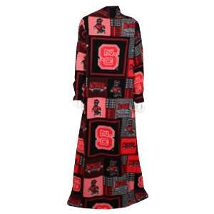 NCAA North Carolina State Wolfpack Patchwork Snuggie   Red