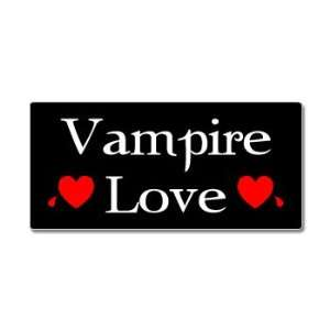 Vampire Love   Window Bumper Sticker Automotive