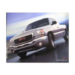 2003 GMC SIERRA Sales Brochure Literature Book Piece