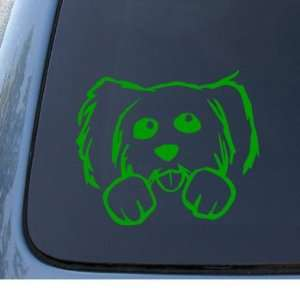 PUPPY DOG   Mutt   Car, Truck, Notebook, Vinyl Decal Sticker #1096