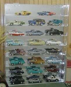 32 Model Car Display Case Holds 24 diecast model cars