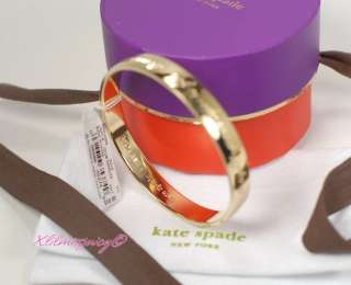 100% Authentic Kate Spade Gold plated Bangle  Brand new in super cute