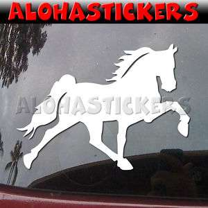 TENNESSEE WALKING HORSE Vinyl Decal Gaited Mustang B16