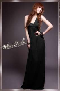 Korea Japan Vintage Fashion Mellow Women Girls Long Maxi Evening Dress
