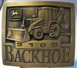 1994 John Deere 310D Tractor Loader Backhoe Belt Buckle jd