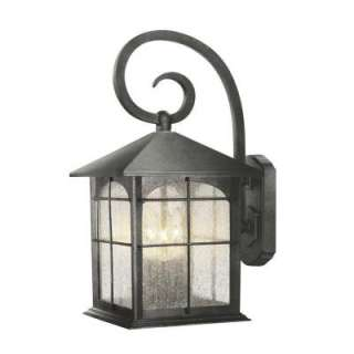 Hampton Bay Wall Mount 3 Light Outdoor Lamp Y37030 151 at The Home