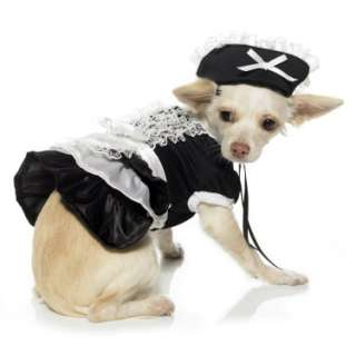 Halloween Costumes French Maid Dog Costume