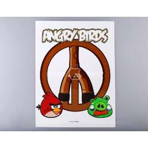 Angry Birds Protective Skin Sticker Cover for Ipad 2