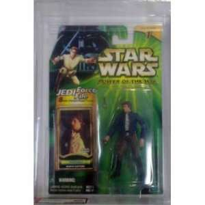 Card) AFA 90 Han Solo   Bespin Capture Action Figure Toys & Games