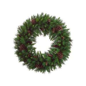 36 American Pine Artificial Christmas Wreath with Pine